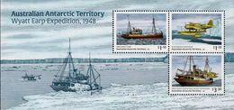 Australian Antarctic Territory (AAT) - 2020 - Wyatt Earp Expedition, 1948 - Mint Souvenir Sheet - Territorio Antártico Australiano (AAT)