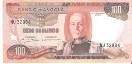 ANGOLA 100 Escudos 1972 - Angola