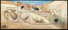 Namibia Mi# Block 53 Postfrisch/MNH - Fauna - Namibia (1990- ...)