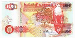 LOT126 - Banknote Zambia 50 Fifty Kwacha Bank 2003 - UNC - Zambia