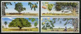 Namibia Mi# 1028-31 Postfrisch/MNH - Flora Trees - Namibia (1990- ...)