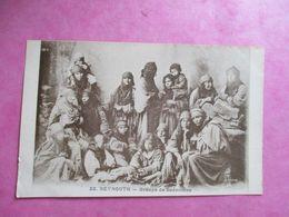 CPA LIBAN BEYROUTH GROUPES DE BÉDOUINES FEMMES - Libanon