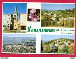 CP (Réf : X 666) SAUXILLANGES (63 PUY DE DÔME) MULTI VUES - France
