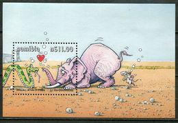 Namibia Mi# Block 55 Postfrisch/MNH - Fauna Cartoon - Namibia (1990- ...)