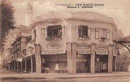 Le Touquet . Paris-Plage   62      The White House. Maison Giraud Magasin De Lingerie     (voir Scan) - Le Touquet