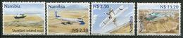 Namibia Mi# 1037-40 Postfrisch/MNH - Aviation Planes - Namibia (1990- ...)