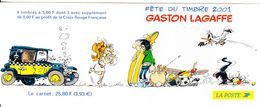 2001 France Gaston Lagaffe Art Comics Complete Booklet MNH ***BELOW FACE VALUE*** - Comics