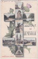54. Souvenir De LUNEVILLE. 9 Vues - Luneville