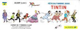2000 France Tin Tin  Art Comics Complete Booklet MNH ***BELOW FACE VALUE*** - Comics