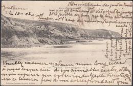 CPA Saint-Cast Grève Et Rochers, Circulé  1902 - Saint-Cast-le-Guildo