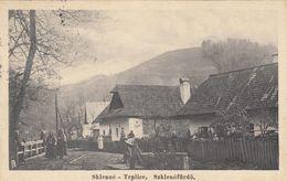 Sklene Teplice - 1928  , Kupele , Bad , Spa , Furdo  , Ziar Nad Hronom - Slovakia