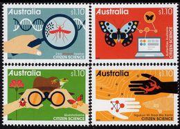 Australia - 2020 - Citizen Science - Insects - Mint Stamp Set - 2010-... Elizabeth II