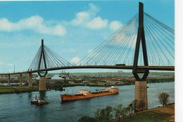 Hamburg Hambourg Köhlbrandbrücke Le Pont De Köhlbrand Bateau Cargo Remorqueurs - Harburg