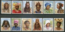 Namibia Mi# 1061-72 II Postfrisch/MNH - Traditional Women - Namibia (1990- ...)