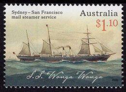 Australia - 2020 - Mail Steamer Service - Sydney - San Francisco - Mint Stamp - 2010-... Elizabeth II