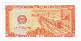 LOT129 - Banknote Cambodia 0,5 Riel Kampuchea Cambodge 1979 Cambodgia - UNC - Cambodia