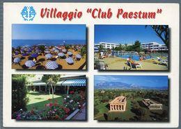 °°° Cartolina - Mare Neve Villaggio Club Paestum Battipaglia Vedute Viaggiata °°° - Battipaglia