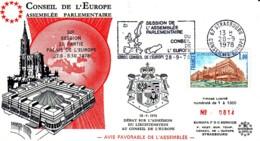 FRANCE : 1978 - Session Du Parlement Européen - Strasbourg - N° 0814/1000 - Idées Européennes