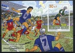 België BL76 ON - Sport - Voetbal - Football - Wereldkampioenschap In Frankrijk - Belgique