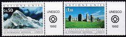 UNO-Genf, 1992, 210/11,  MNH **, UNESCO-Welterbe. - Office De Genève