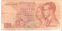 Belgique 50 Francs 1966 - Sin Clasificación