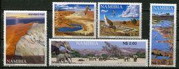 Namibia Mi# 1077-81 Postfrisch/MNH - Fauna Birds And More - Namibia (1990- ...)