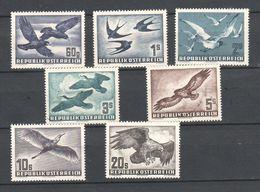 """Österreich 1950: """"Heimische Vögel"""" 957/73 Postfrisch Luxus ANK 420,--€  (siehe Foto/ Scan) - 1945-.... 2nd Republic"""