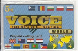 CYPRUS - World, Voice By EVCMOBI Prepaid Card 5 Euro(thick Plastic), Sample, Mint - Cyprus