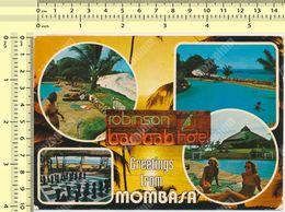 KENYA MOMBASA, Rombinson Baobab Hotel Diani Beach Views, 1983 Nice Stamp  Old Postcard - Kenia