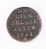 LIARD  1751  OOSTENRIJKSE NEDERLANDEN  BELGIE  /4283/ - Bélgica