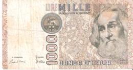 Itália Mille Lire - 1000 Lire