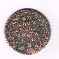 2 LIARD  1789  OOSTENRIJKSE NEDERLANDEN  BELGIE  /4285/ - Bélgica