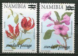 Namibia Mi# 1009 II + 1092 Postfrisch/MNH - Flora - Namibia (1990- ...)