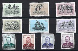 Luxembourg  -  Timbres 1952 Série Olympique / Fresez Postfrisch** MNH  KW110 € - Blocs & Feuillets