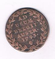 2 LIARD  1793  OOSTENRIJKSE NEDERLANDEN  BELGIE  /4286/ - Bélgica