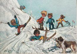 "Michel THOMAS "" Gamins Sur Des Skis "" - Thomas"