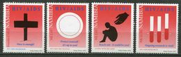 Namibia Mi# 1093-6 Postfrisch/MNH - Helth, Aids Avarness - Namibia (1990- ...)