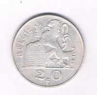 20 FRANC 1951 VL BELGIE /4288/ - 1945-1951: Regencia