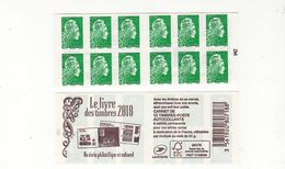 Carnet MARIANNE L'ENGAGEE, Lettre Verte - Carnets