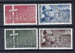 Luxembourg  -  Timbres 1947 Série G.Patton  Postfrisch ** MNH  KW 25 - Blocs & Hojas