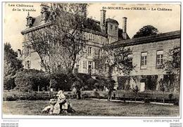 CPA (Réf.G844)  St MICHEL-en-L'HERM (VENDÉE 85) Le Château - Saint Michel En L'Herm