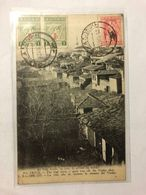 GREECE -  SALONIQUE -  THE HIGH TOWN, A GREAT WAY OFF, THE VARDAR PLAIN   - POSTED 1918 - Greece