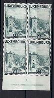 Luxembourg  -  Timbres 1934  Paysages Portes Des 3 Tours Luxembg  Postfrisch **  MNH   KW 60,00 € - Blocs & Feuillets