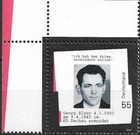 2003 Allem. Fed. Deutschland  Mi. 2310**MNH EOL  100. Geburtstag Von Georg Elser. - [7] Repubblica Federale