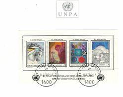 40 Jahre WFUNA 1986 - Weltverband Der Gesellschaften - Briefstück 1400 Wien - Cartas