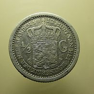 Netherlands 1/2 Gulden 1913 Silver - [ 3] 1815-… : Royaume Des Pays-Bas