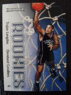 NBA - FLEER 99-00 - CAVALIERS - TRAJAN LANGDON ROOKIE - Singles (Simples)