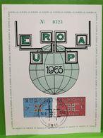 Belgique Europa 1963 Oblitéré Arlon - Cartes Souvenir