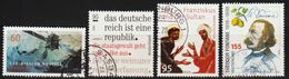 2019: Bund Mi.Nr. 3476, 3488, 3498 + 3508 Gest. (d358) / Allemagne Y&T No. 3258, 3263, 3276 + 3286 Obl. - Gebraucht