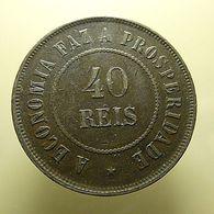 Brazil 40 Reis 1909 - Brazil